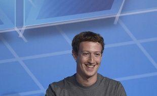Mark Zuckerberg le 24 février 2014 à Barcelone.
