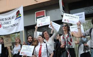 Manifestation du 14 avril 2016 à Toulouse contre la Loi Travail.