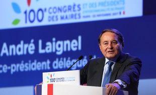 André Laignel, maire PS d'Issoudun.