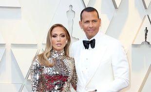 La chanteuse Jennifer Lopez et l\u0027ex,joueur de Baseball Alex Rodriguez