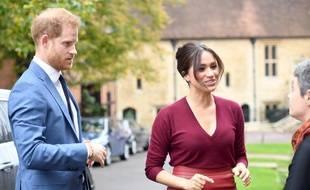 Le prince Harry et son épouse, Meghan, duchesse de Sussex