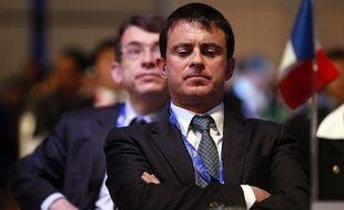 Le ministre de l'Intérieur, Manuel Valls, le 5 novembre 2012, à l'Assemblée générale d'Interpol, à Rome (Italie).