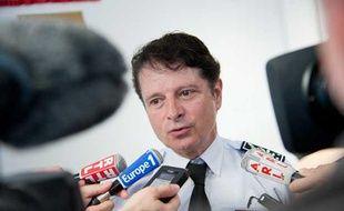 Le directeur départemental de la sécurité publique de Gironde, Pierre-Marie Bourniquel