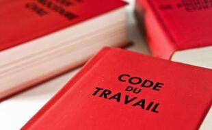 Illustration du Code du Travail.