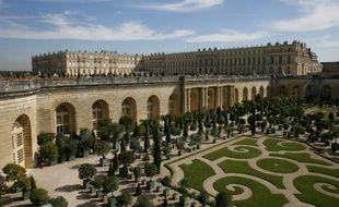 Le château de Versailles, le 11 septembre 2015