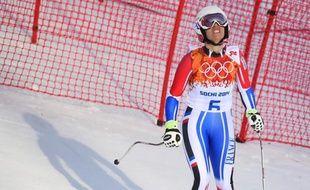 La Française Marie Marchand-Arvier réfléchit à la suite à donner à sa carrière après avoir terminé ses JO-2014 samedi sans avoir passé même la moitié de ses deux courses en piste.