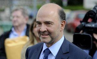 Pierre Moscovici, secretaire national du Parti Socialiste lors des rencontres retraites du PS a Tomblaine dans la banlieue de Nancy (photo prise le 17 juin 2010)