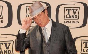 L'acteur David Hasselhoff lors des TV Land Awards, à Culver City, en Californie, le 17 avril 2010.