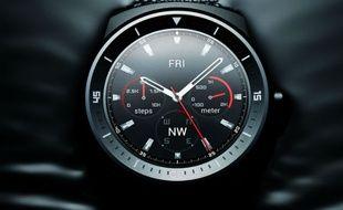 La montre Android Watch R de LG.