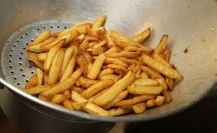 Des frites. (Illustration)