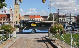 Un bus à Dunkerque.