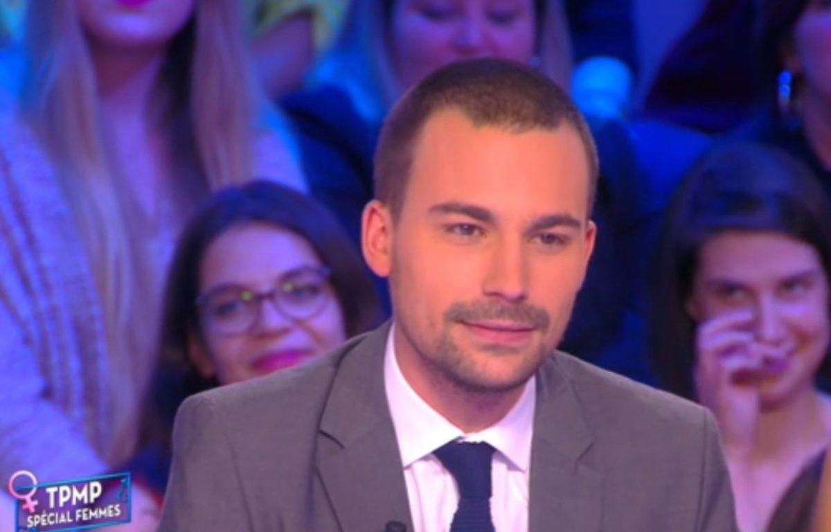 Le chroniqueur Bertrand Chameroy sur le plateau de «Touche pas à mon poste» – Capture d'écran D8