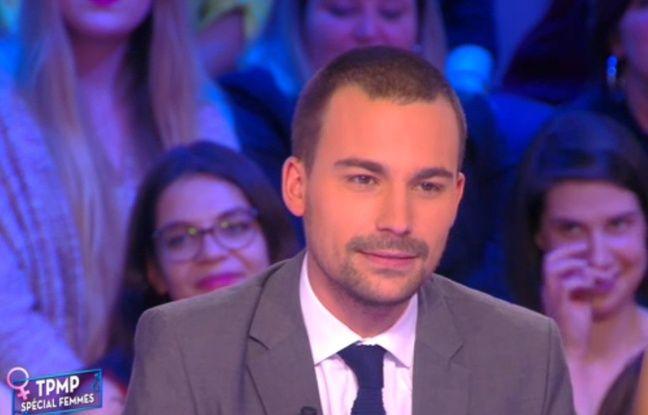 Le chroniqueur Bertrand Chameroy sur le plateau de «Touche pas à mon poste»
