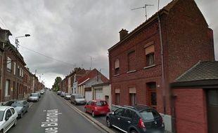 La rue Blanqui, à Denain, près de Valenciennes.
