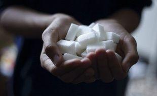 Illustration de morceaux de sucre