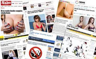De France Bleu Besançon au New-York Post, l'étude de Jean-Denis Rouillon sur l'impact des soutien-gorge sur la poitrine des femmes à fait le tour de la planète média