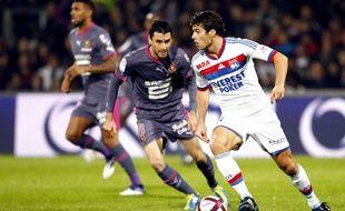 Julien Féret (au centre) est l'exemple à suivre pour Yoann Gourcuff.