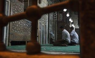 Le 25 septembre 2012. Illustration pendant une prière dans une mosquée. A.Gelebart / 20 Minutes (archive)