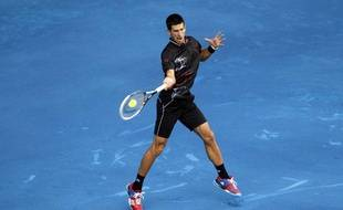Novak Djokovic au tournoi de Madrid, le 8 mai 2012.