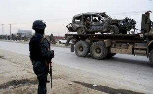 Trois soldats de la mission de l'Otan en Afghanistan ont été tués vendredi à Kaboul dans un attentat suicide à la voiture piégée, a annoncé l'Otan, et l'attentat a été revendiqué par les talibans.