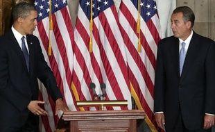 Le président américain Barack Obama a convoqué les chefs de file du Congrès à la Maison Blanche, sans guère d'espoir d'éviter le déclenchement dès vendredi d'une cure d'austérité qui risque de peser sur la croissance de la première économie mondiale.