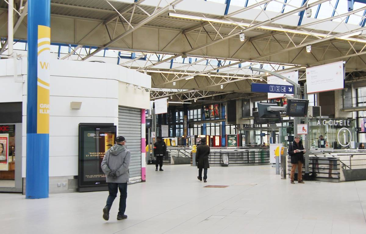 Le hall de la gare de Rennes, ici en 2015. – C. Allain / APEI / 20 Minutes