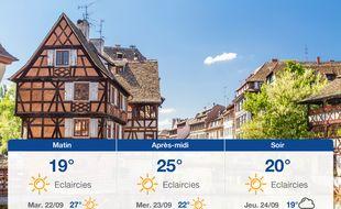 Météo Strasbourg: Prévisions du lundi 21 septembre 2020