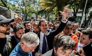 Juan Guaido s'est autoproclamé président par intérim du Venezuela.