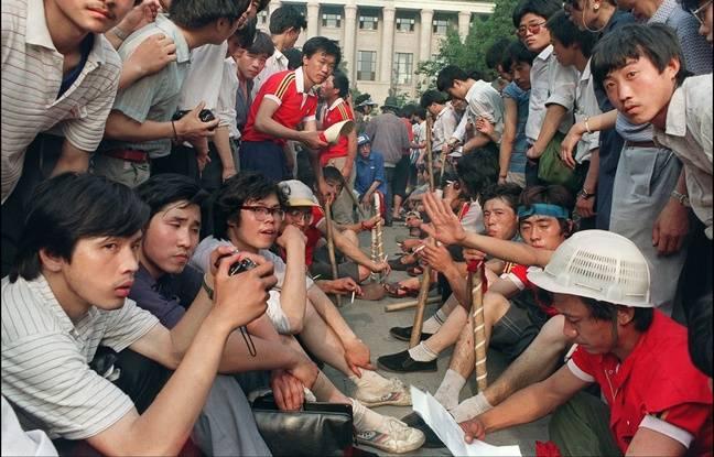 Le 3 juin 1989, quelques heures avant la répression de la place Tiananmen