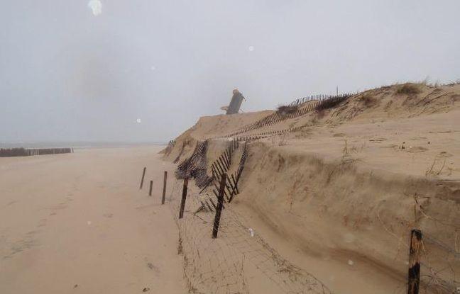 Des opérations de ré-ensablement avaient été menées sur la Pointe du Cap Ferret.