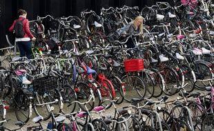Il y a plus de vélos que d'habitants aux Pays-Bas...