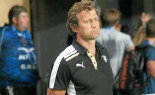 Fabien Galthié veut assister à la victoire du MHR, même depuis les tribunes.