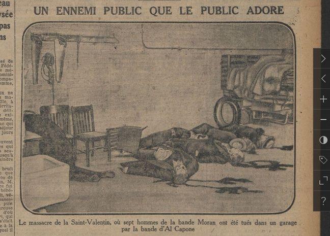 Extrait du quotidien «Le Journal» du 14 septembre 1930.