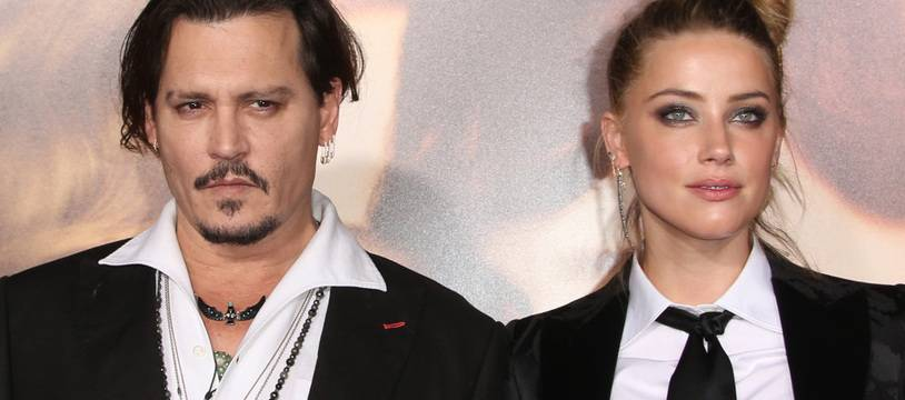 Les ex-époux Johnny Depp et Amber Heard en 2015