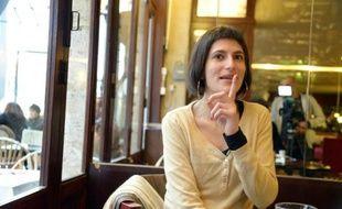 """Marion Larat, élue """"Femme de l'année"""" par un jury RTL/Marie-Claire/France 2, à Bordeaux en mars 2014"""