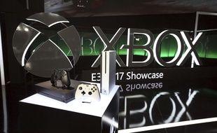 La Xbox One X, de Microsoft (illustration).