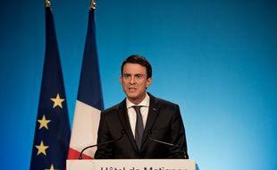 Manuel Valls, Premier ministre, le 13 décembre 2015 à Paris.