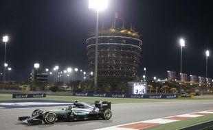 Nico Rosberg s'est baladé à Bahrein