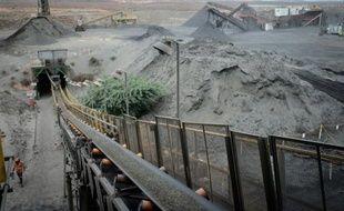 La seule mine de vanadium d'Amérique latine, Maracas Menchen, dans le nord-est du Brésil, le 15 juin 2016