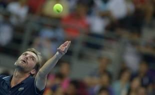 Julien Benneteau a perdu sa 10e finale consécutive en s'inclinant contre Kei Nishikori à Kuala Lumpur, le 28 septembre 2014.