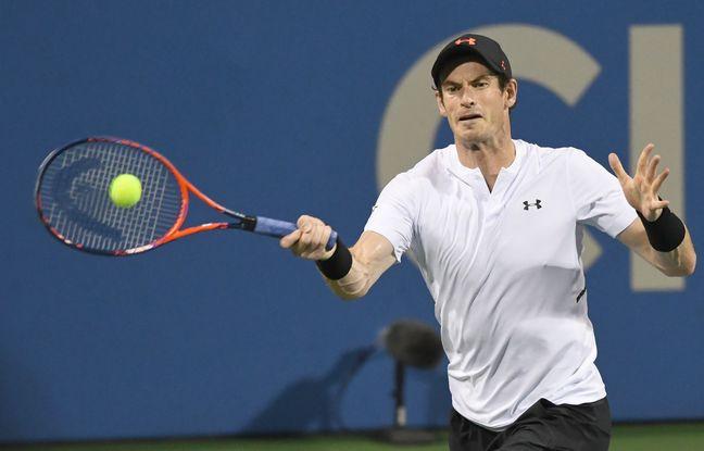 Washington: Retombé à la 830e place mondiale, Andy Murray gagne son premier match sur dur depuis plus d'un an