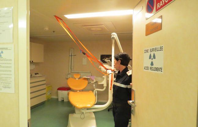 Et au détour d'une porte, un cabinet dentaire !