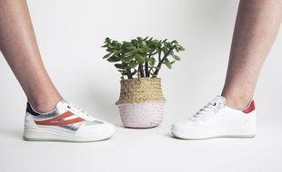 La chaussure connectée E-vone existe en plusieurs modèles.