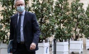 Bruno Le Maire, ministre de l'Economie, le 11 décembre 2020 à Paris.