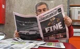 La non-qualification de la Squadra Azzura au Mondial 2018 va faire mal à la presse sportive italienne.