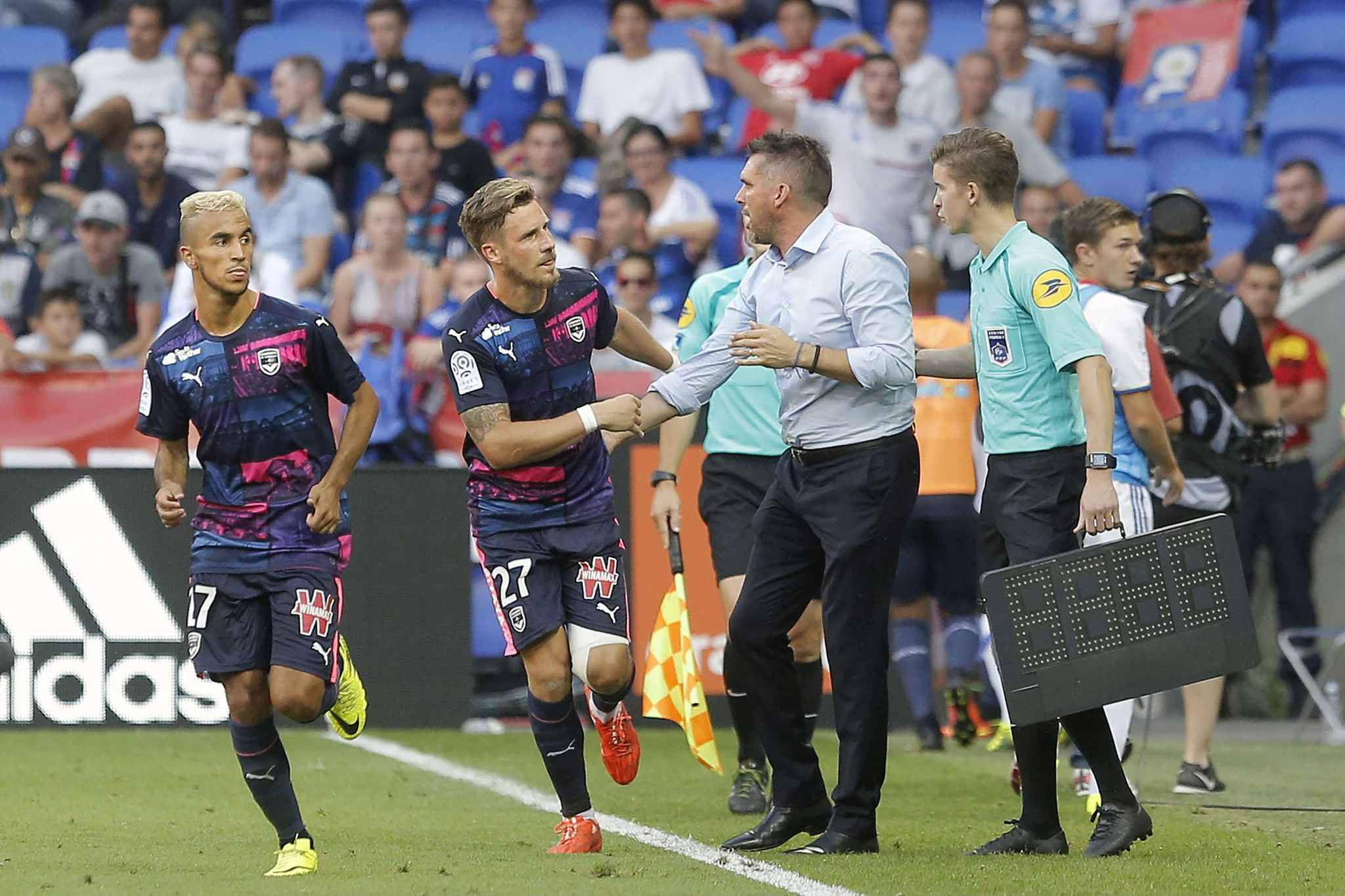 Gourvennec satisfait de ses 3 défenseurs centraux