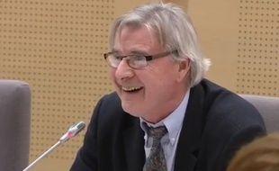 Jacques Danzin, conseiller régional (FN) de Nord-Pas-de-Calais-Picardie