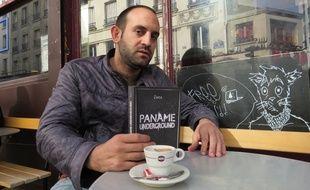 Johann Zarca, 33 ans, auteur de «Paname Underground» (Editions Goutte d'Or)