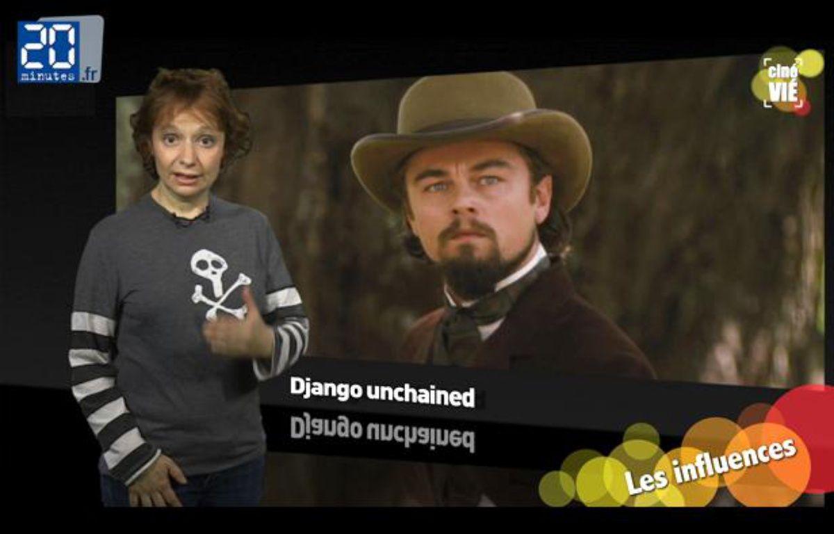 Caroline Vié, critique ciné de 20 Minutes, décrypte «Django Unchained». – JD-TL / 20 Minutes