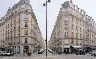 Des immeubles haussmanniens à Paris